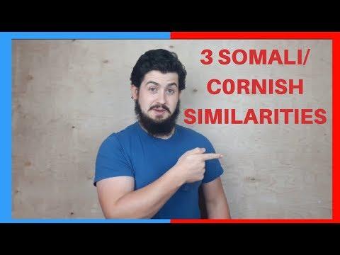 3 FACTS! CORNISH - SOMALI SIMILARITIES