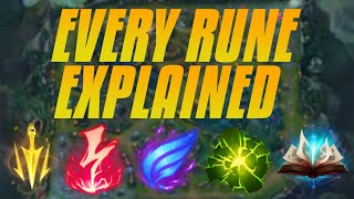 The Only Runes Video You Need - Season 10 Runes - Every Rune Explained