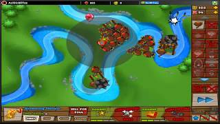 Bloons Tower Defense 5 - BTD5 - Monkey River - Daily challenge #83