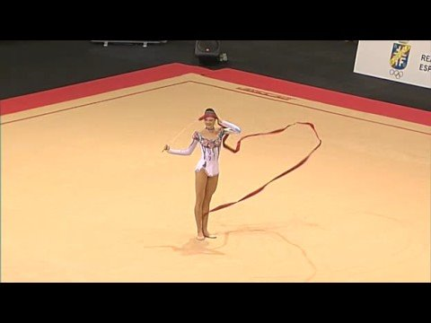 Anna Bessonova's INCREDIBLE Ribbon, Benidorm 2008