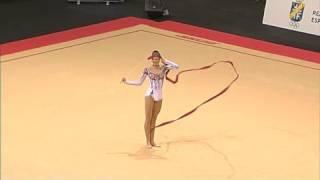 Anna Bessonova's INCREDIBLE Ribbon, Benidorm 2008(Anna Bessonova Of Ukraine Competes In The Ribbon World Cup Final, Held In Benidorm 2008., 2008-10-07T10:13:17.000Z)