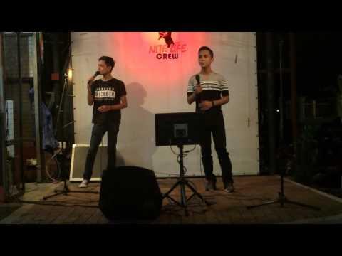 Ku Rela Dibenci Aiman Tino ft Haziq Putera Band Live show
