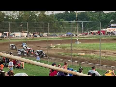 Michael's Mercer Raceway Buddy Barris Memorial 7-13-19 Night 2 Heat Race