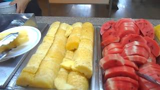 Завтрак в Паттайе Парк отеле. Чем нас кормят....