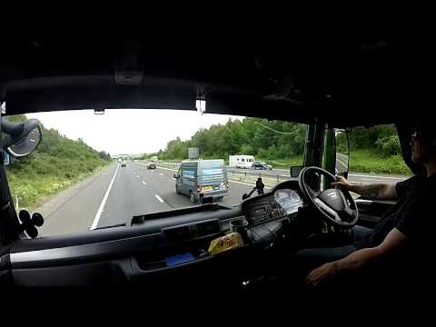 trucker mark plymouth to norwich