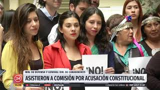 Rozas y Espina declaran en comisión por acusación constitucional contra presidente Piñera