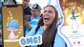 INSANE SHINIES @ SYDNEY Ralts Community Day - Pokémon GO!