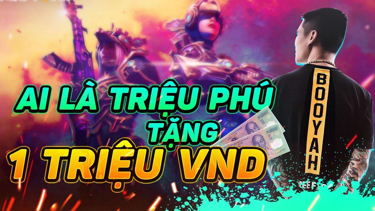 Người Đầu Tiên Việt Nam Lấy 1.000.000 đồng Ai là Triệu Phú Freefire !
