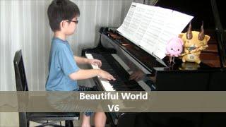 【7歳】Beautiful world V6 ドラマ『警視庁捜査一課9係』主題歌