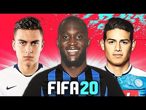 LUKAKU UFFICIALE ALL'INTER!! 🤑 TOP 10 TRASFERIMENTI FIFA 20 - ESTATE 2019 | Dybala, Lozano
