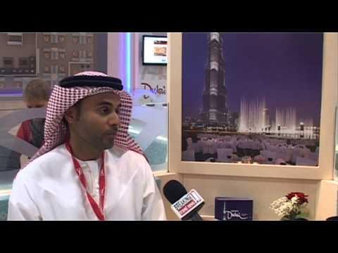 Abdullah Bin Suwaidan, Director Inward Missions, Dubai Tourism @ ITB Berlin 2012