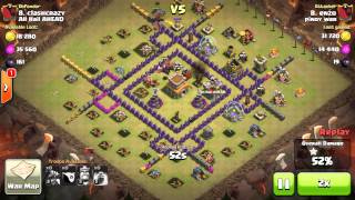 NEW clash of clans Air sweeper placement (CoC TH7)