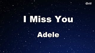 Baixar I Miss You - Adele Karaoke 【No Guide Melody】 Instrumental