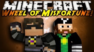Minecraft: Wheel of Misfortune Part 1!