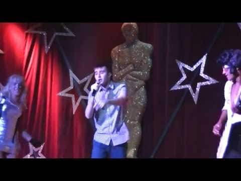 Me Singing 'Footloose' by Kenny Loggins at Hotel Catalonia Riviera Maya Karaoke Night