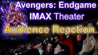 Avengers: Endgame IMAX Theater Reaction Opening Day BEST PARTS