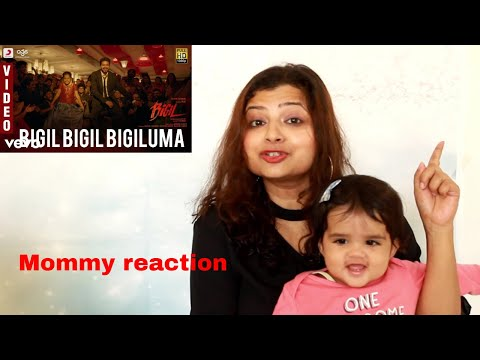 Mommy Reaction - Bigil - Bigil Bigil Bigiluma Video | Vijay, Nayanthara | A.R Rahman | Atlee