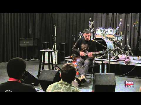 Evan Brewer (The Faceless) at Bass Player LIVE! 2013