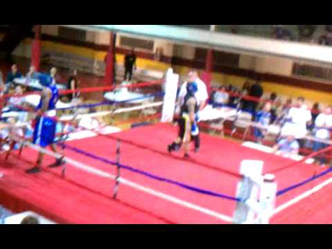 Adam Townsend first boxing fight