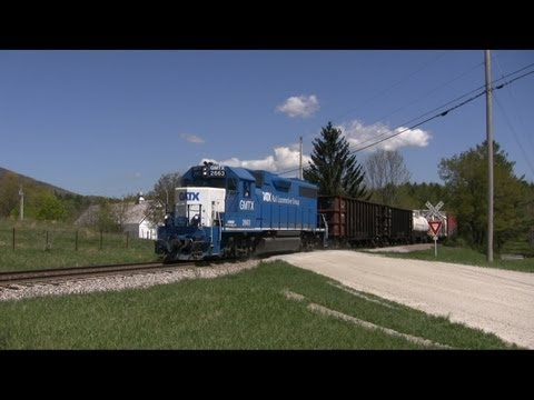 Vermont Rail System Train Chase: Bennington and Rutland