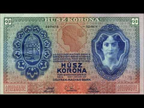 BANKNOTES AUSTRO HUNGARIAN EMPIRE 1904-1912 ISSUE