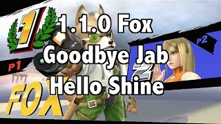 SSB4 Fox 1.1.0 Goodbye Jab Hello Shine