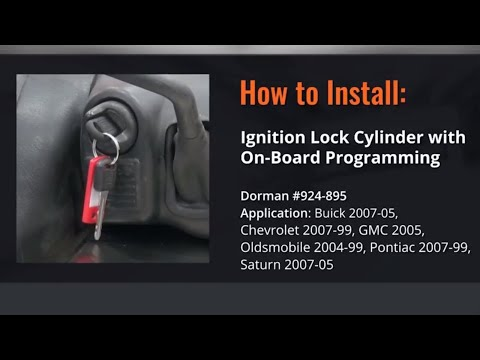 Chevy Gmc Ignition Lock Cylinder Repair Video By Dorman Products Youtube