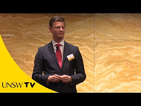 """""""Death, taxes, and you!"""" - Jeffrey Scott - UNSW 2015 Three Minute Thesis"""