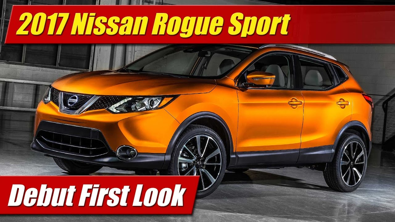2017 nissan rogue sport debut first look doovi. Black Bedroom Furniture Sets. Home Design Ideas