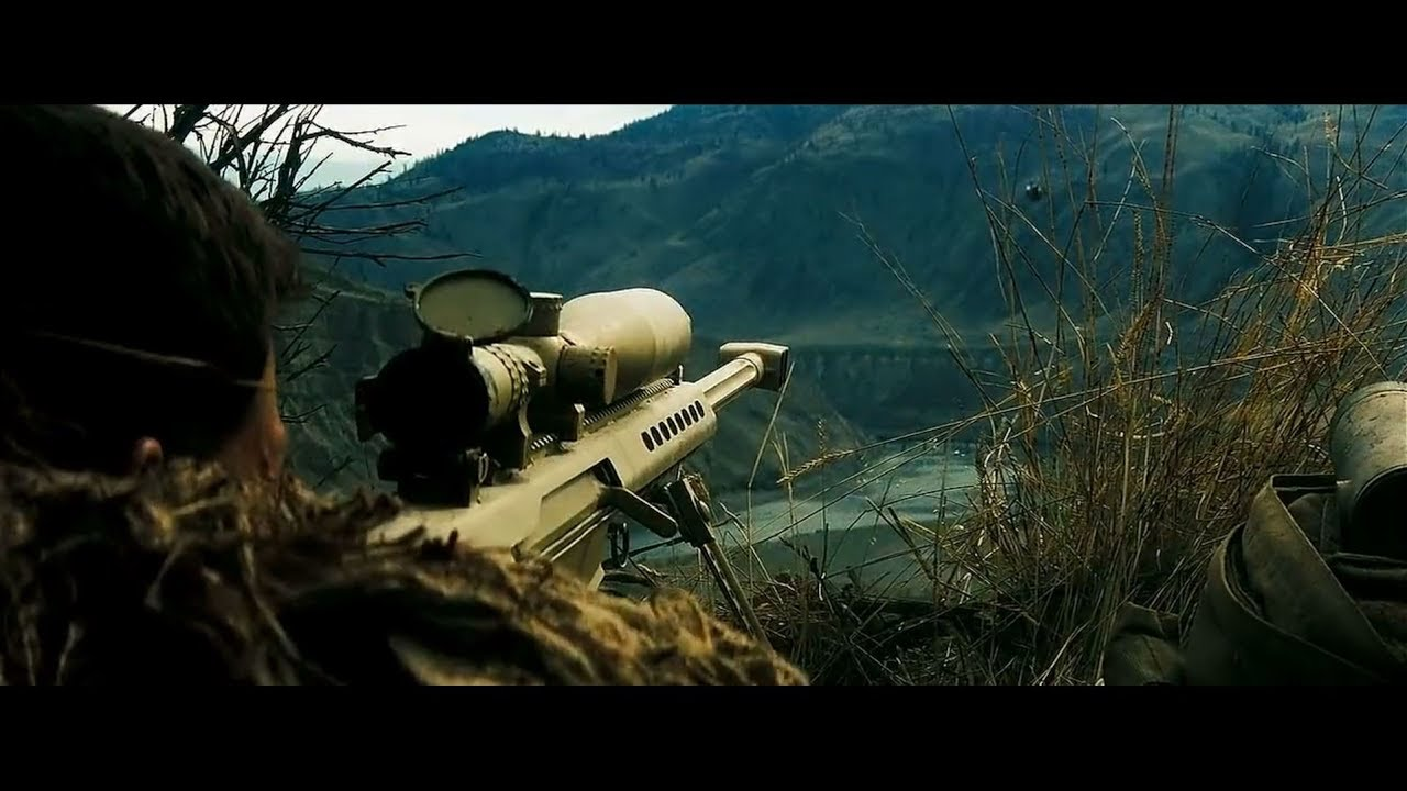 shooter movie sniper shot in hindi HD