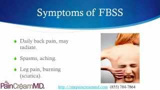 Pain Creams for Failed Back Surgery with My Pain Cream MD  (855) 784-7864 Thumbnail