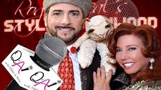 MALLORY LEWIS, LAMB CHOP AND NICOLOSI OSCARS Interview at Roger Neal Pre-Oscar Suites 2014