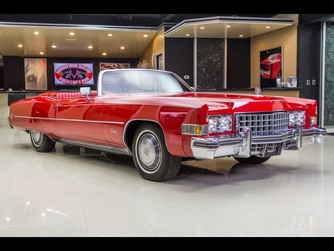1973 Cadillac Eldorado For Sale - YouTube