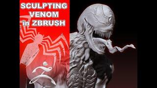 Venom ZBRUSH Speed Sculpt