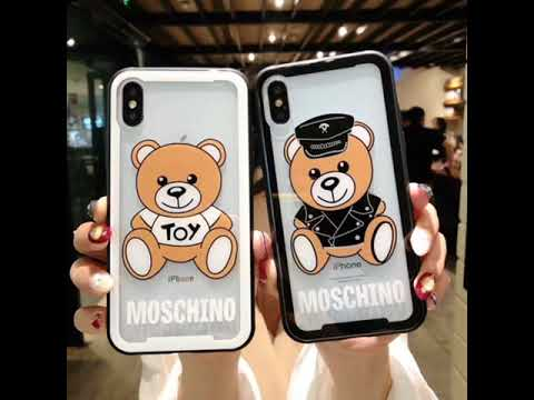 promo code 97166 159c5 hat toy iphone x case moschino iphone x 7 8 6s plus case - YouTube