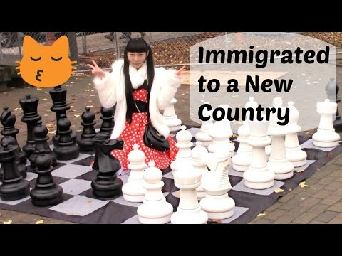 Video about her immigrating