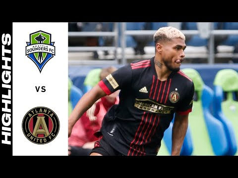 Seattle Sounders Atlanta United Goals And Highlights