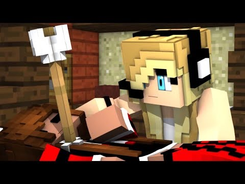 Minecraft  Song Psycho Girl 15  Psycho Girl vs Hacker Song A minecraft  with Song