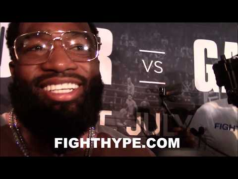 (WOW) ADRIEN BRONER REVEALS $500,000 PENALTY IF HE MISSES WEIGHT VS. GARCIA; EXPLAINS NEW MOTIVATION