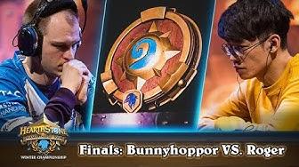Bunnyhoppor vs. Roger - Finals - HCT Winter Championship 2019
