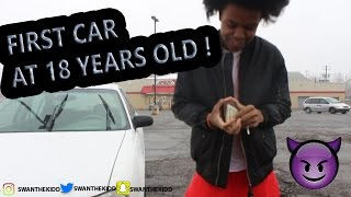 18 YEAR OLD BOY BUYS HIS FIRST CAR !