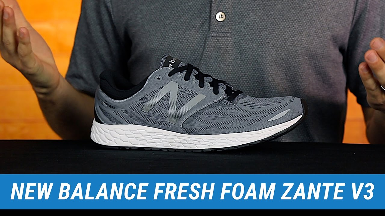 brand new timeless design aesthetic appearance New Balance Fresh Foam Zante v3 | Men's Fit Expert Review