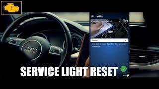 OBDeleven Service Light Reset Audi - Kasowanie inspekcji serwisowej w Audi