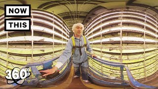 360 TOUR - AeroFarms: The Future of Farming   Unframed by Gear 360   NowThis
