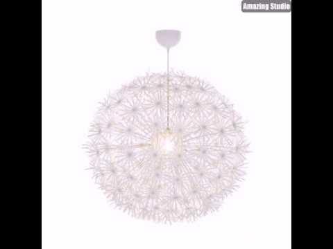 Plafoniere Ikea : Lampadario maskros ikea do it yourself pimp deine lampe