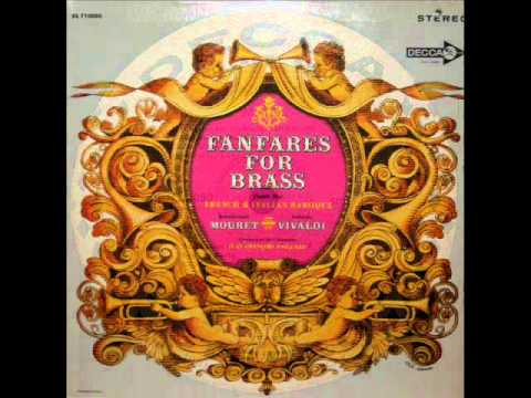 Jean-Joseph Mouret / Paillard Chamber Orchestra, 1963: Fanfares for Trumpets - Maurice Andre