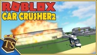 Danish Roblox | Car Crusher 2-EPIC evacuation!