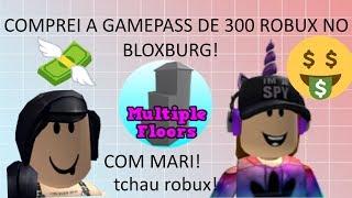 Roblox - BUYING 300 ROBUX GAMEPASS NO BLOXBURG!