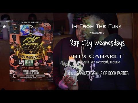 Rap City Wednesdays at BTs Cabaret (1-13-16)