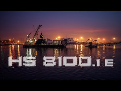 Liebherr - Electric HS 8100.1 E in Dredging Operation